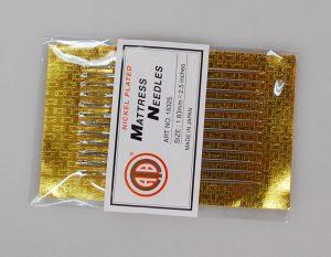 MATRESS NEEDLE(10CRD)W/POINT (18325/10PC)