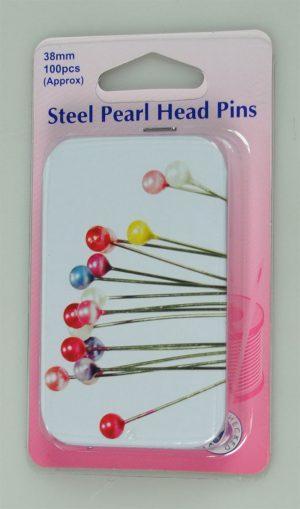 PEARL HEADED PINS:5BOX/PKT (669.PT)