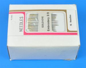 EMB.NEEDLE:G/EYE:36CRD (3/9-NEEDLE)