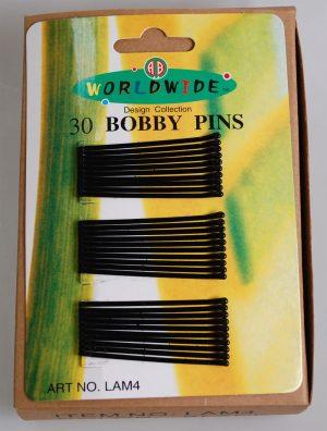 30 BOBBY PINS-STRAIGHT (LAM4)