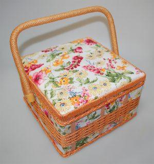 SQ.SEWING BOX:S/2 (22x22x13CM) (LY1523/2)