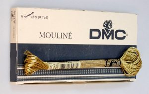 DMC THREAD:6PCS/BOX  NIL (317W)