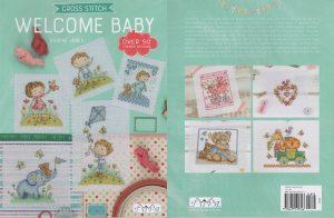 CROCH.STITCH:WELCOME BABY (6370-1)