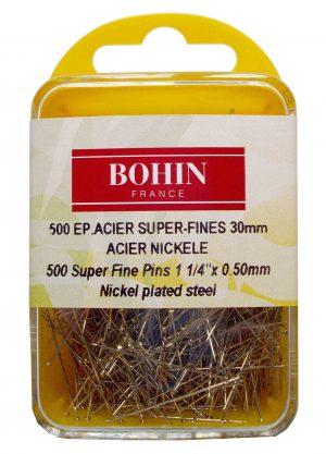 SUPER FINE PINS,500PCS/CASE (BOHIN/44912)
