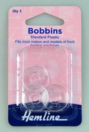 BOBBIN PLASTIC:5CRD (120.13)