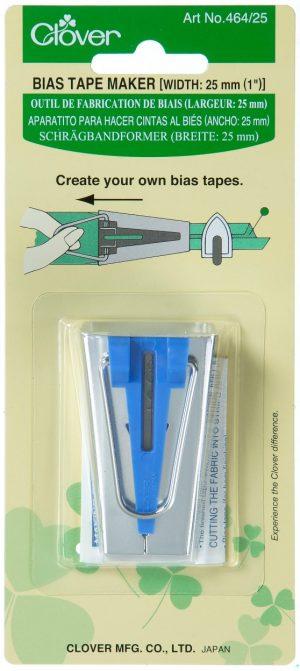 BIAS TAPE MAKER(25MM):3PC/BOX (464/25-BOX)