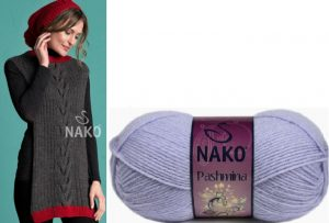 ACRYLIC WOOL YARN:5BLS(500GRM) (NAKO/PASHMINA)