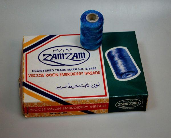 VISCOSE RAYON EMB.THREAD:10PC (ZAMZAM)