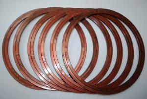 PLASTIC EMB HOOP:235MM 6PC/PKT (SPEH/235MM)