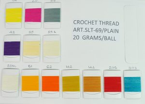 CROCH.THREAD:10GRM:10PC (SLT-69-PLAIN/10GRM)