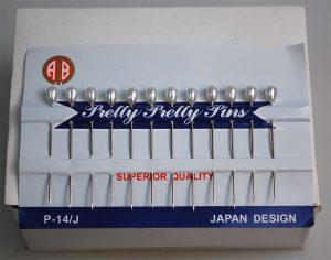 "PEARL PINS""MAB"";5.5CM:20CRD (P-14/J-BOX)"