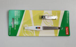 BABY NAIL CLIPPER:BLISTER (RM-2B)