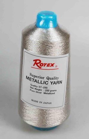 "METALLIC YARN:250GRM:""ROTEX"" (ST-250/SIL)"