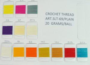CROCH.THREAD:20GRM:10PC (SLT-69-PLAIN/20GRM)