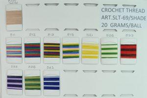 CROCH.THREAD:20GRMx10PC (SLT-69-SHADE/20GRM)