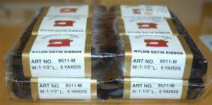 """NYL.SATIN RIBBON:1-1/2"""" (8511M-1-1/2)"""