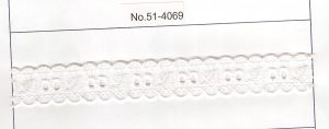 "T/C CUTTING LACE:1"":7YD (D-51-4069)"