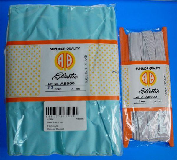 ELASTIC BRAID (AB900-W/22C-6)