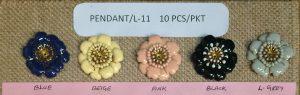 METAL PENDANT:10PC/PKT (PENDANT/L-11)