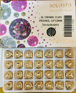 CRTSTAL STONE:56PC (TRIANGLE-12X12)