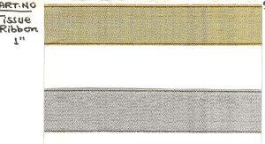 TISSUE RIBBON:25M:5R/PK (TISSUE RIBBON/1)