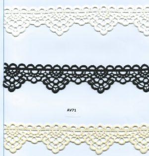 CHEM-CUT LACE W/TEXT.YARN:15Y (TX57-1088)