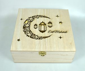 WOODEN BOX:S/2 (1335)
