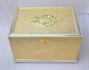 "WOODEN BOX:S/2(22.5""/26"") (BX1184/1-SET)"