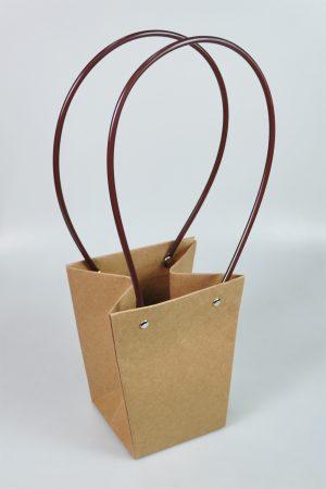 NATURAL PAPER BAG:10PC (0512/1)