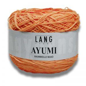 LANG/AYUMI (COT/NYL YARN:100GRM)