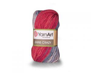 Y-ART/JEANS CRAZY (COT/PAC YARN:50Gx10B(500G))