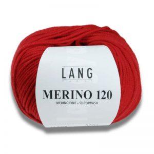 LANG/MERINO 120 (VERGIN WL.YARN:50G)