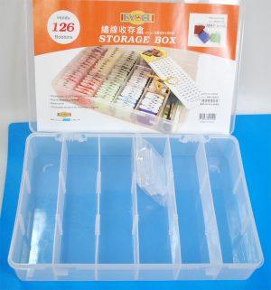 EBOX12001 (BOBIN STORAGE BOX-18 GRID)