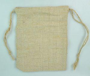 BAN/BAG-9X6.5 (MINI JUTE BAGS:10PC)